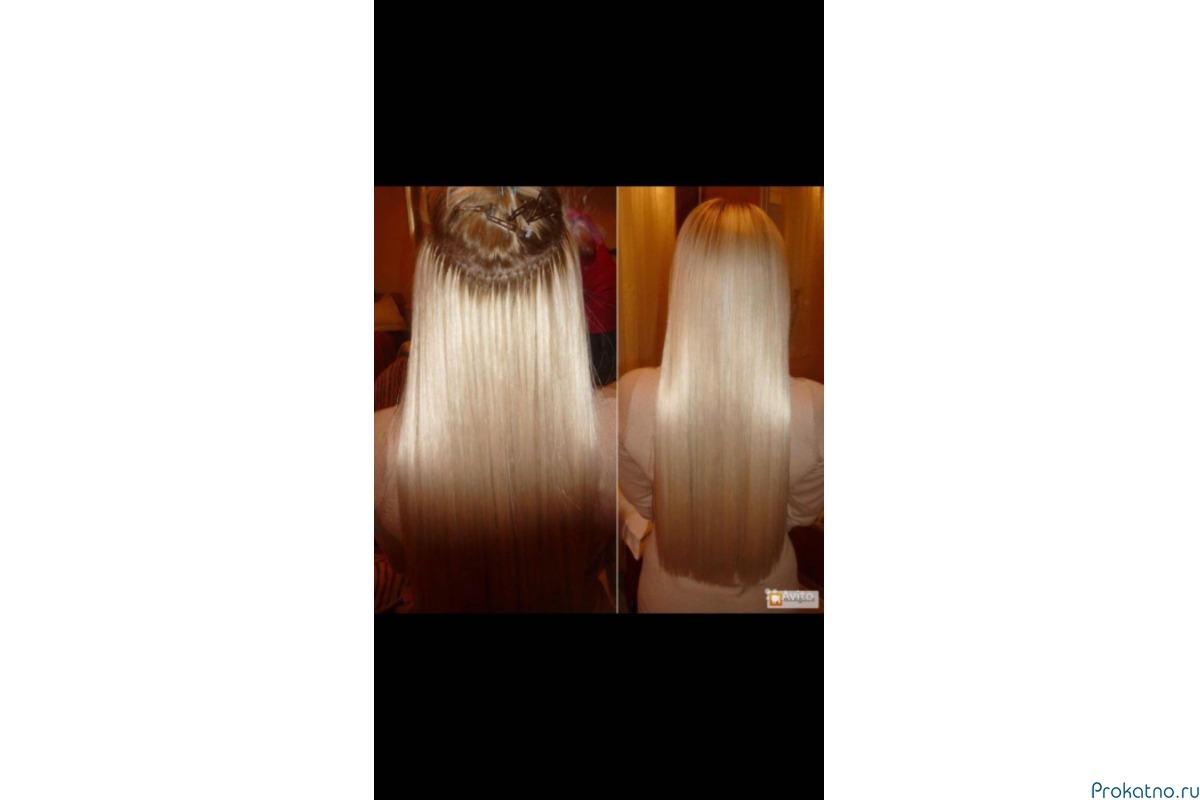 Капсульное (горячее) наращивание волос